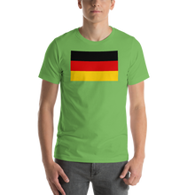 Leaf / S Germany Flag Short-Sleeve Unisex T-Shirt by Design Express