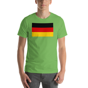 Germany Flag Short-Sleeve Unisex T-Shirt