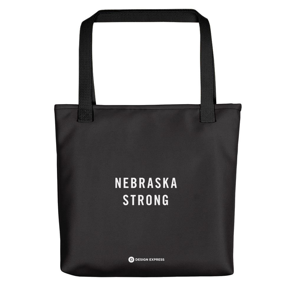 Default Title Nebraska Strong Tote bag by Design Express