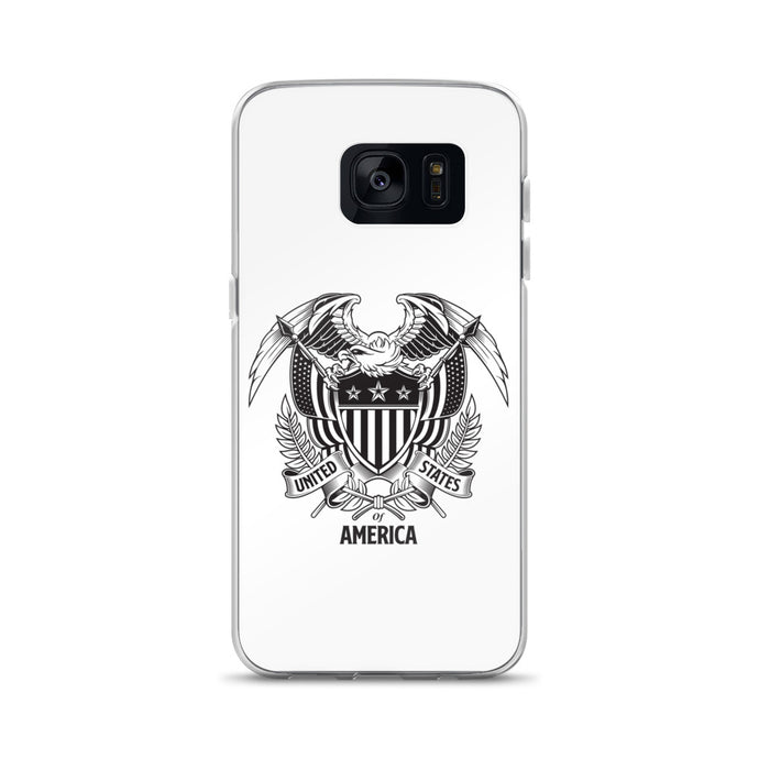 United States Of America Eagle Illustration Samsung Case