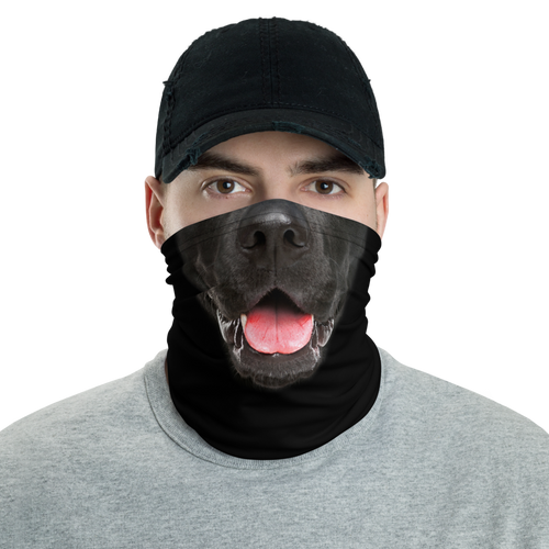 Default Title Labrador Dog Neck Gaiter Masks by Design Express