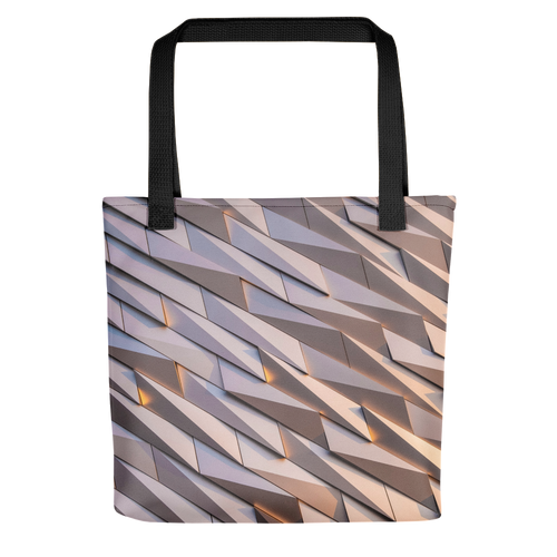 Default Title Abstract Metal Tote Bag by Design Express