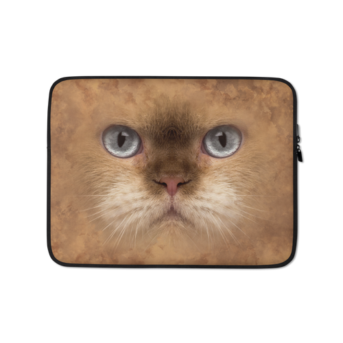 13 in British Cat Laptop Sleeve by Design Express