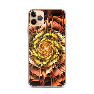 iPhone 11 Pro Max Abstract Flower 01 iPhone Case by Design Express
