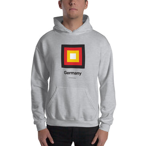"Sport Grey / S Germany ""Frame"" Hooded Sweatshirt by Design Express"