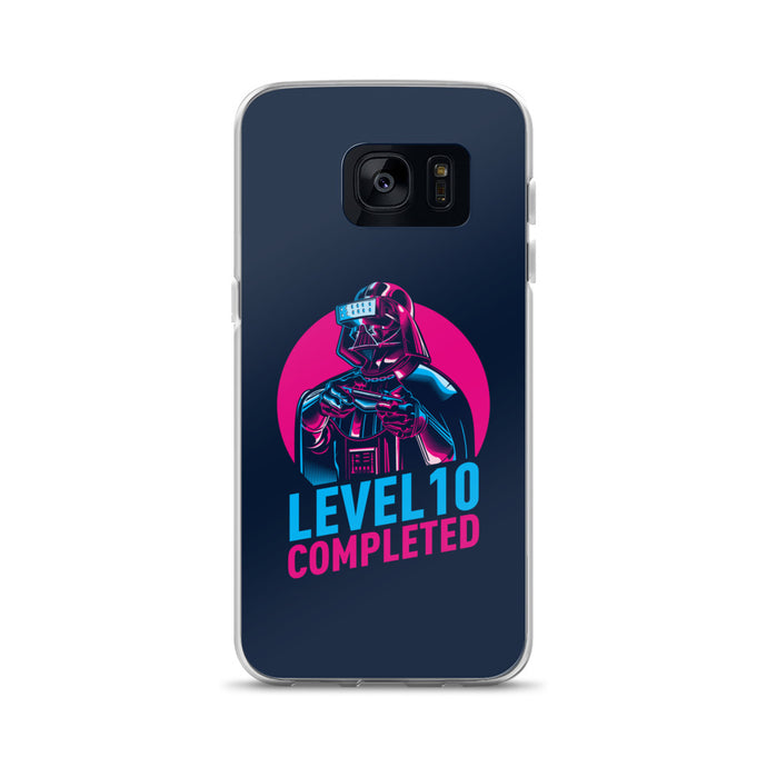 Darth Vader Level 10 Completed (Dark) Samsung Case