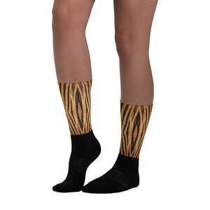 "Tiger ""All Over Animal"" 1 Socks by Design Express"