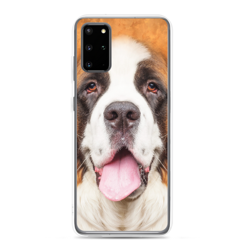 Samsung Galaxy S20 Plus Saint Bernard Dog Samsung Case by Design Express
