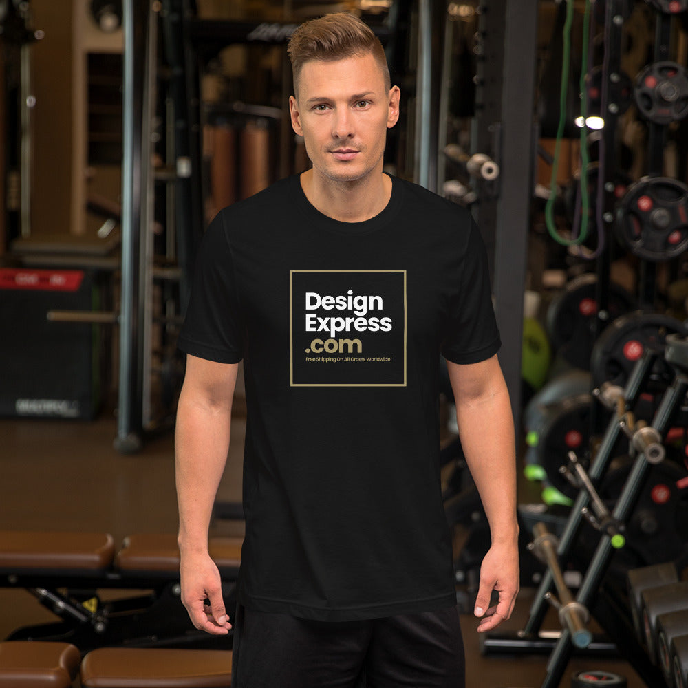 XS DesignExpress.com Short-Sleeve Unisex T-Shirt by Design Express
