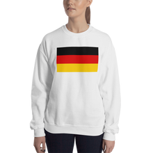 White / S Germany Flag Sweatshirt by Design Express