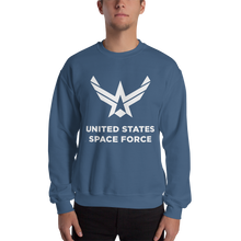 "Indigo Blue / S United States Space Force ""Reverse"" Sweatshirt by Design Express"