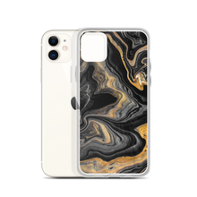 Black Marble iPhone Case by Design Express