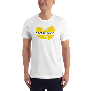 White / XS Wuhan Clan Unisex T-Shirt (100% Made in the USA 🇺🇸) by Design Express