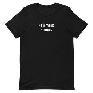 New York Strong Unisex T-Shirt T-Shirts by Design Express