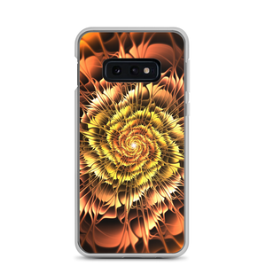 Samsung Galaxy S10e Abstract Flower 01 Samsung Case by Design Express