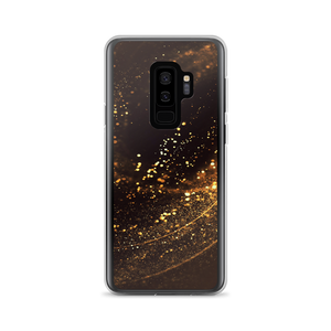 Samsung Galaxy S9+ Gold Swirl Samsung Case by Design Express