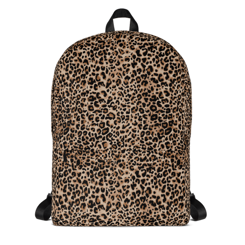 Default Title Golden Leopard Backpack by Design Express