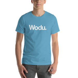 "Ocean Blue / S Wodu Media ""Everything"" Unisex T-Shirt by Design Express"