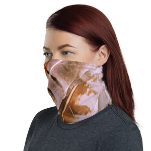 Pheasant Feathers Neck Gaiter Masks by Design Express