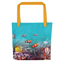 "Yellow Sea World 01 ""All Over Animal"" Tote bag Totes by Design Express"