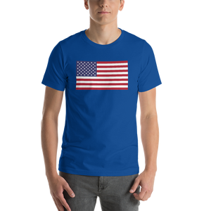 "United States Flag ""Solo"" Short-Sleeve Unisex T-Shirt"