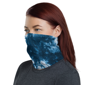 Blue Tie Dye Neck Gaiter Masks by Design Express