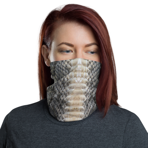 Default Title Snake Skin 01 Neck Gaiter Masks by Design Express