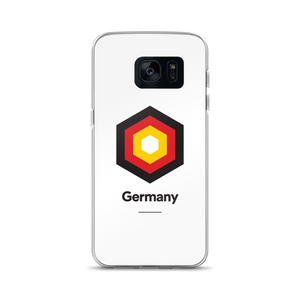 "Samsung Galaxy S7 Germany ""Hexagon"" Samsung Case Samsung Case by Design Express"