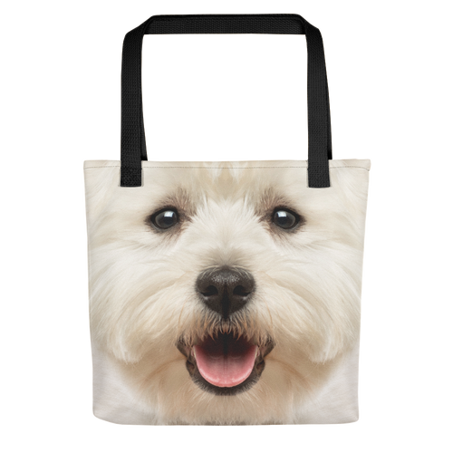 Default Title West Highland White Terrier Dog Tote Bag Totes by Design Express