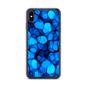 iPhone XS Max Crystalize Blue iPhone Case by Design Express