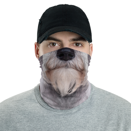 Default Title Schnauzer Dog Neck Gaiter Masks by Design Express