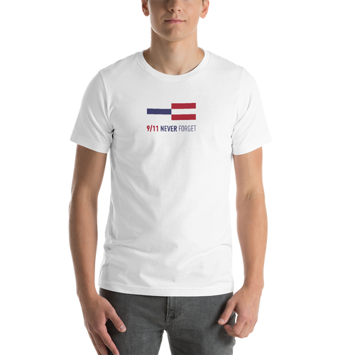 S NEVER FORGET 9/11 Memorial Unisex T-Shirt by Design Express