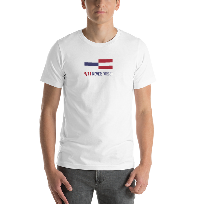 NEVER FORGET 9/11 Memorial Unisex T-Shirt