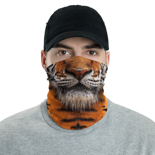 Default Title Tiger Face Neck Gaiter Masks by Design Express