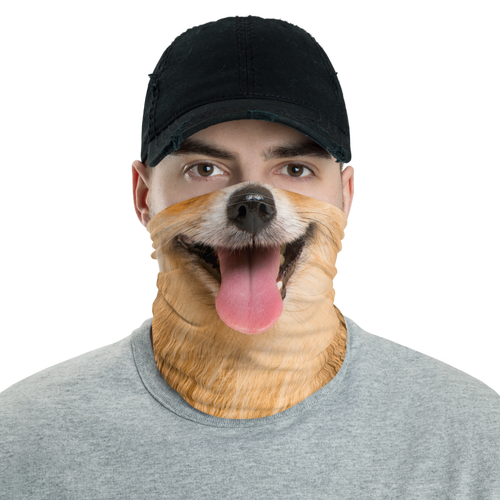 Default Title Pomeranian Dog Neck Gaiter Masks by Design Express