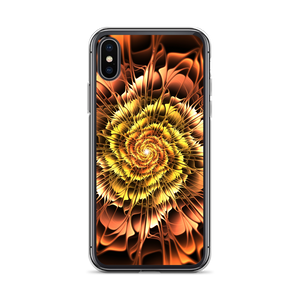 iPhone X/XS Abstract Flower 01 iPhone Case by Design Express