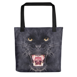 "Black Black Panther ""All Over Animal"" Tote bag Totes by Design Express"