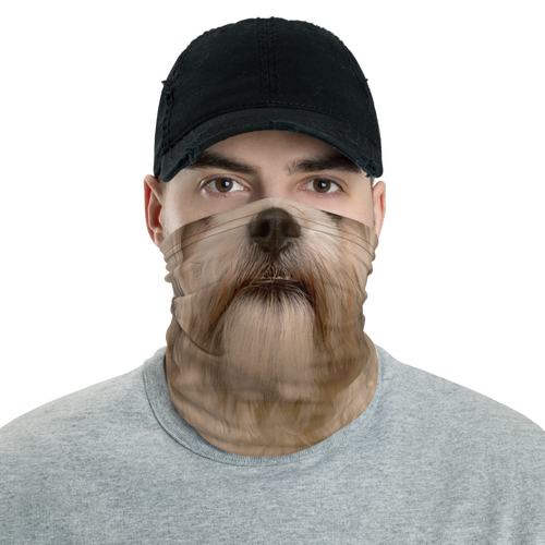 Default Title Shih Tzu Dog Neck Gaiter Masks by Design Express