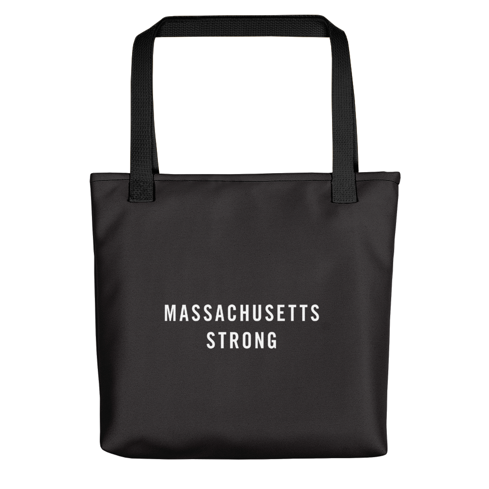 Default Title Massachusetts Strong Tote bag by Design Express