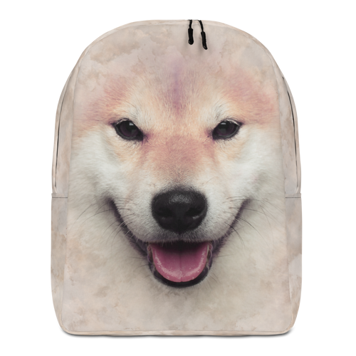 Default Title Shiba Inu Dog Minimalist Backpack by Design Express