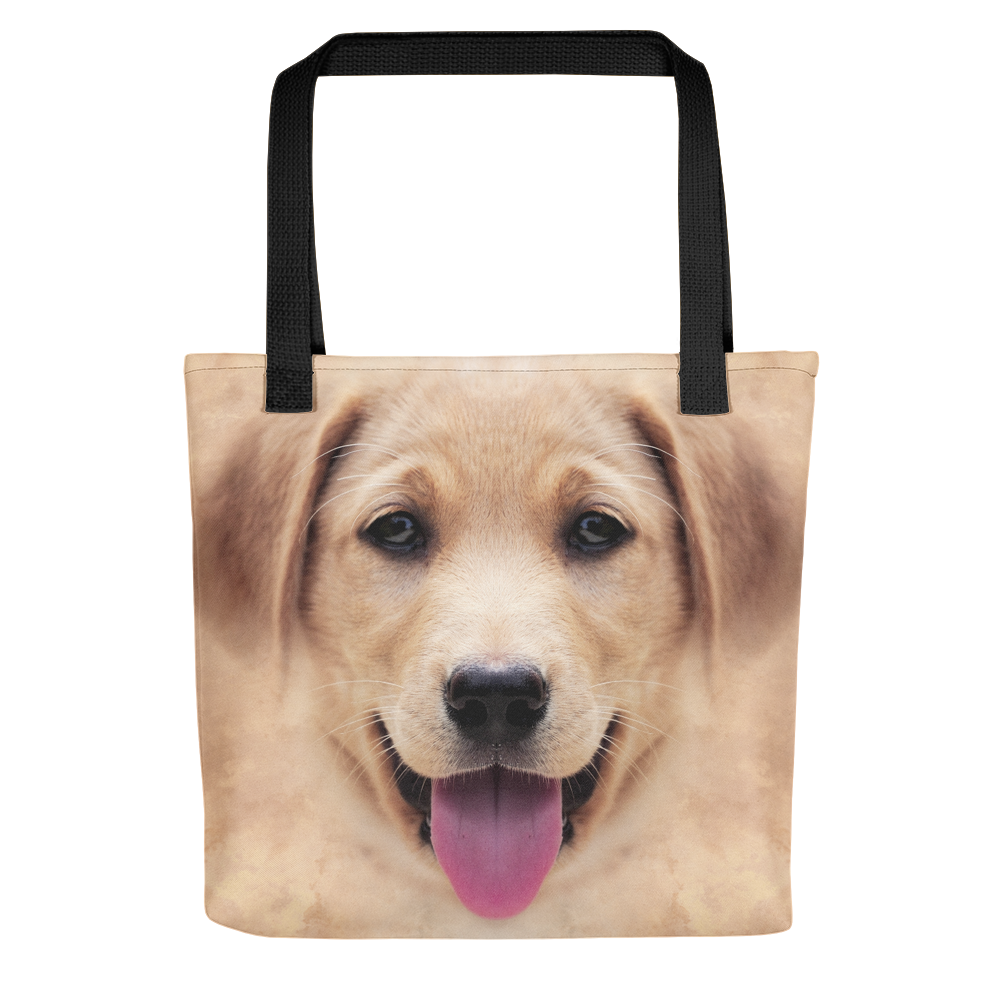 Default Title Yellow Labrador Dog Tote bag by Design Express