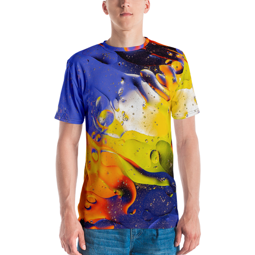XS Abstract 04 Men's T-shirt by Design Express