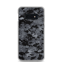 Samsung Galaxy S10e Dark Grey Digital Camouflage Print Samsung Case by Design Express