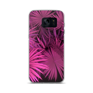Samsung Galaxy S7 Pink Palm Samsung Case by Design Express