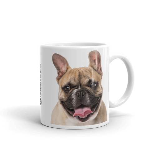 Default Title French Bulldog Mug Mugs by Design Express