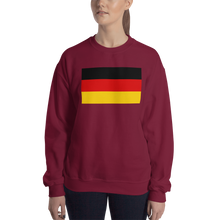 Maroon / S Germany Flag Sweatshirt by Design Express