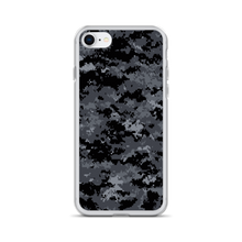 iPhone 7/8 Dark Grey Digital Camouflage Print iPhone Case by Design Express