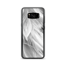 Samsung Galaxy S8 White Feathers Samsung Case by Design Express