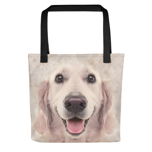 Default Title Golden Retriever Dog Tote bag by Design Express