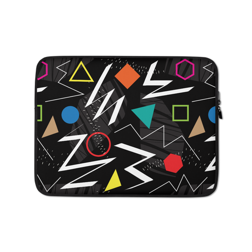 13 in Mix Geometrical Pattern Laptop Sleeve by Design Express